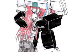 RL Ratch Hugging (Cosplay) Wheeljack - for Scream01