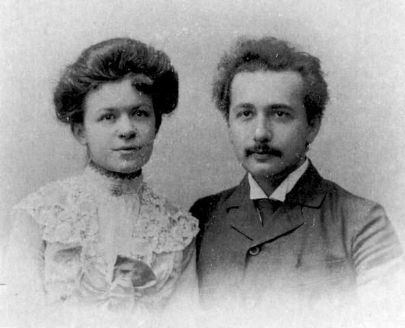 Mileva Maric and Albert Einstein