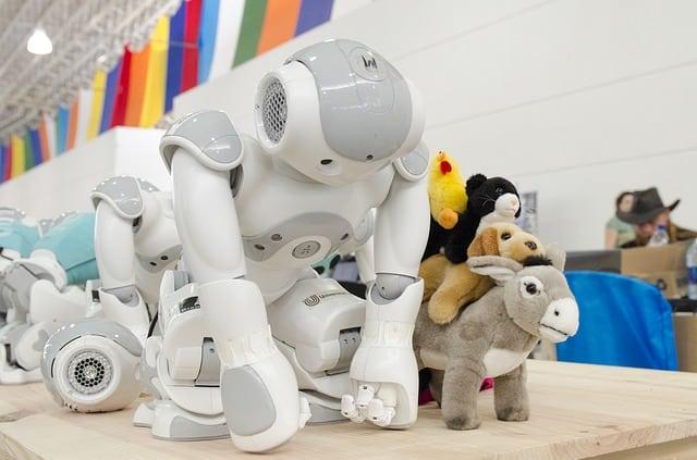 NAO robots by Aldebaran/Softbank